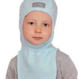 Головные уборы - Шапка детская Саша р.48-54 мальчик/девочка шлем арт.20201-02 (52-54), 0