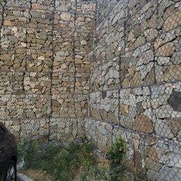 Архитектура, строительство и ремонт - Габионная подпорная стена, 0