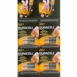 Батарейки - Э/п Duracell LR03 BL12 отрывной, 0
