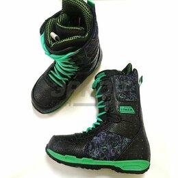 Ботинки - Ботинки сноубордические Lidakis Well Worth муж чёрно-зелён (х3), 0