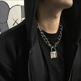 Кулоны и подвески - Цепочка с замком на шею, 0