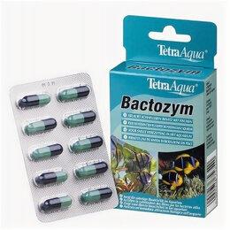 Аквариумная химия - Tetra Bactozym кондиц. с культурой бактерий10капс.на 1000л., 0