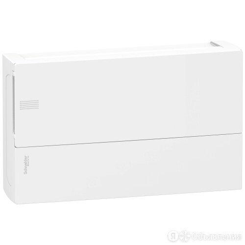 ЩИТ Schneider MINI PRAGMA навесной 18 мод. ЩРН-18 с белой дверцей, 2 клеммы, ... по цене 2445₽ - Электроустановочные изделия, фото 0