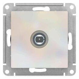 Радиодетали и электронные компоненты - Schneider ATN000493 TV РОЗЕТКА коннектор, м-зм, ЖЕМЧУГ, 0
