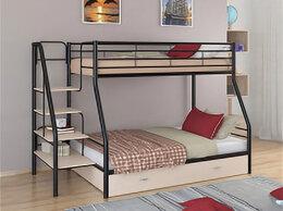 Кровати - Двухъярусная кровать ЛегкоМаркет Толедо-1Я Черный, 0