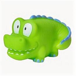 Игрушечное оружие и бластеры - 25173 КУРНОСИКИ Игрушка Крокодильчик для ванны, 0