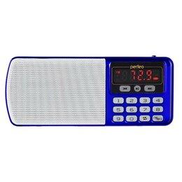 Радиоприемники - Радиоприемник Perfeo Егерь FM+ 70-108МГц/ MP3/ питание USB или BL5C/ синий/ (..., 0