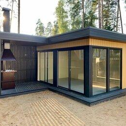 """Готовые строения -  Дачный домик """"Deep House 15"""" с террасой, 0"""