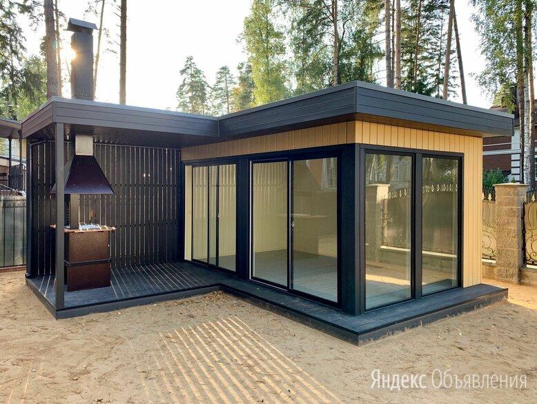 """Дачный домик """"Deep House 15"""" с террасой по цене 925000₽ - Готовые строения, фото 0"""