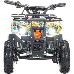 Электромобили - Детский электроквадроцикл MOTAX Mini Grizlik X-16 1000W Бомбер, 0