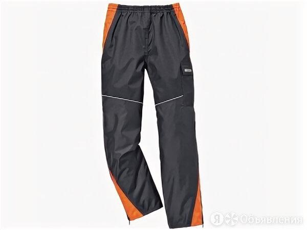 Брюки STIHL непромокаемые RAINTEC антрацит/оранж. S по цене 6982₽ - Одежда и аксессуары, фото 0
