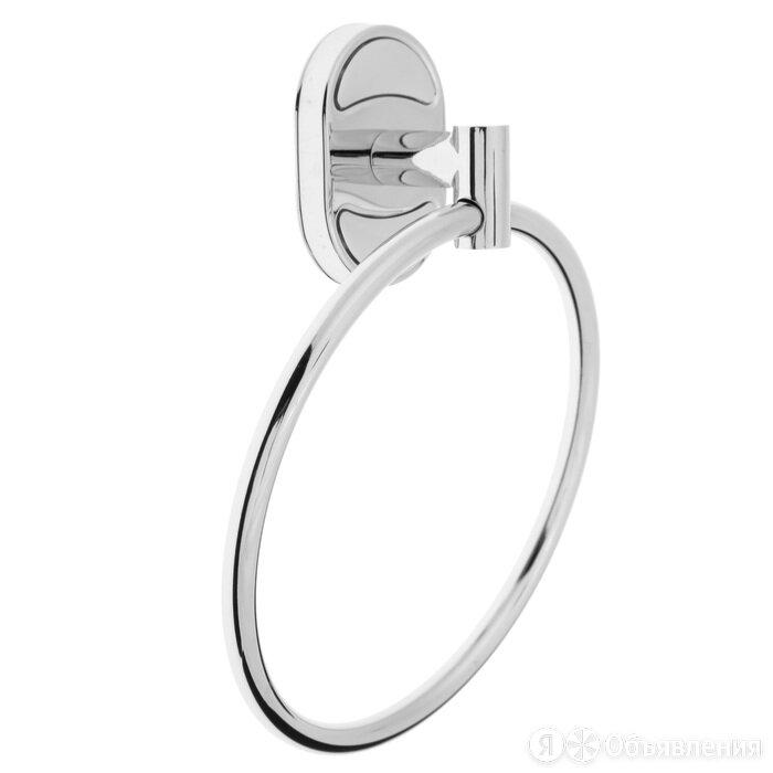 Держатель для полотенец одинарный, кольцо Accoona A11208, цвет хром по цене 539₽ - Расходные материалы, фото 0