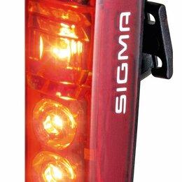Фонари - Фонарь велосипедный задний SIGMA BLAZE, со стопсигналом, 3 диода, 15100 , 0