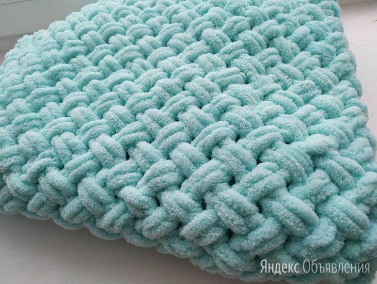 Плед из плюшевой пряжи плетенка по цене 1500₽ - Пледы и покрывала, фото 0
