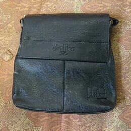 Сумки - Мужская сумка планшет, 0