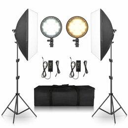 Осветительное оборудование -  Комплект GRIFLV256 светодиодного света Grif-LV256 Комплект постоянного света , 0
