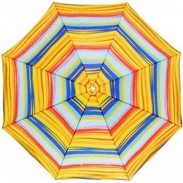 Зонты от солнца - Зонт пляжный NISUS прямой N-180-SO, 0
