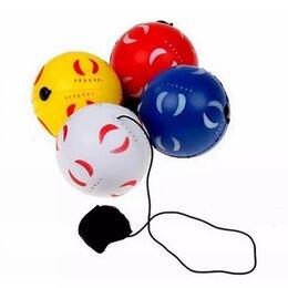 Игрушки  - Мяч на резинке малый 6см 1/12, 0