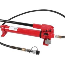 Спецтехника и навесное оборудование - Гидравлический насос ручной ТЕХРИМ НРГ-900, для пресса, 1 л, 0