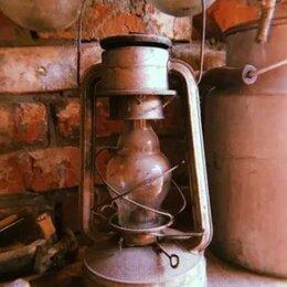 Настольные лампы и светильники - Старинная керосиновая лампа 50х годов, 0