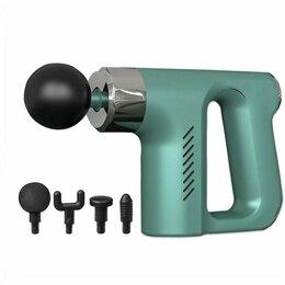 Вибромассажеры - Перкуссионный ударный массажер мышечный для тела, массажный пистолет , 0
