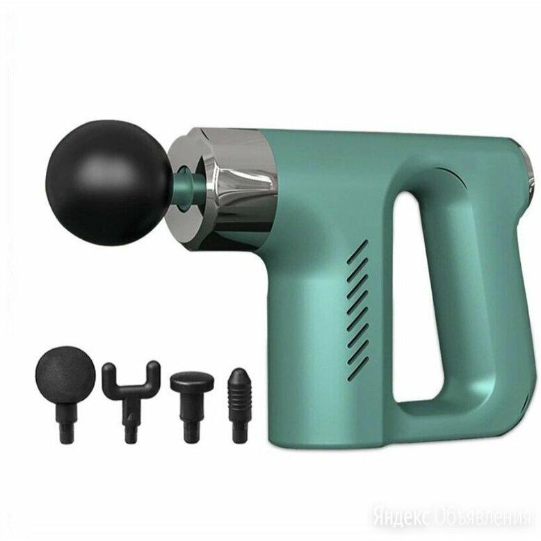 Перкуссионный ударный массажер мышечный для тела, массажный пистолет  по цене 1740₽ - Вибромассажеры, фото 0