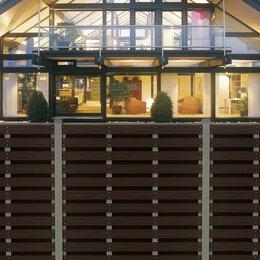 Заборчики, сетки и бордюрные ленты - Забор ДПК горизонтальный вентилируемый HILST 2х2, 0