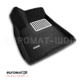 Аксессуары для салона - Коврики салона текст.TESLA Model S Euromat 3D Lux черные. Арт. EM3D-004900, 0