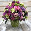 Интерьерная композиция из искусственных цветов по цене 2500₽ - Цветы, букеты, композиции, фото 1