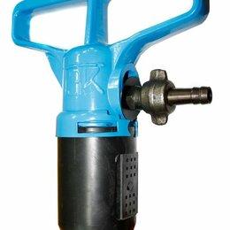 Отбойные молотки - Отбойный молоток пневматический МОП-4 (ТЗК) двойная рукоятка, 0