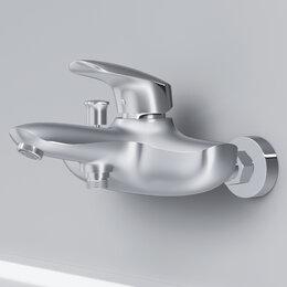 Краны для воды - AM.PM Смеситель для ванны/душа AM.PM Bliss L F5310064 излив 195 мм, хром, шт, 0
