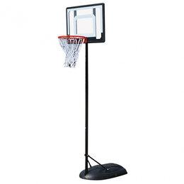Стойки и кольца - Баскетбольная мобильная стойка DFC KIDS4, 0