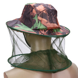 Одежда и обувь - Шляпа с москитной сеткой (накомарник)., 0