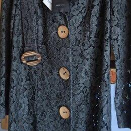 Пиджаки - Пиджак длинный, из кружева, 0