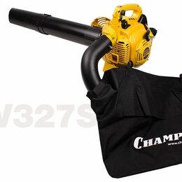 Воздуходувки и садовые пылесосы - Воздуходувка-измельчитель CHAMPION GBV327S, 0