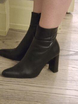 Ботильоны - Ботильоны из натуральной кожи высоком каблуке,…, 0