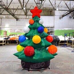 Рекламные конструкции и материалы - Новогодние надувные фигуры елка, 0