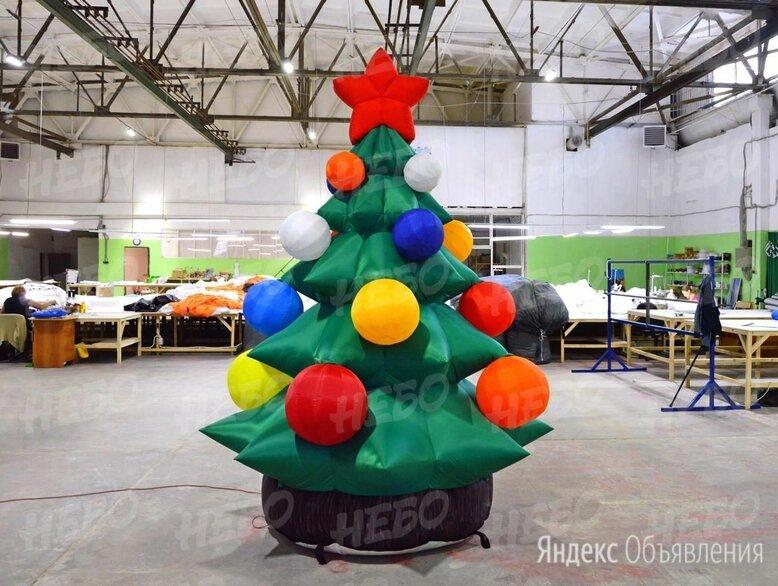 Новогодние надувные фигуры елка по цене 21000₽ - Рекламные конструкции и материалы, фото 0