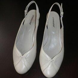 Туфли - Женские босоножки, натуральная кожа. Размер 38, provocante, 0