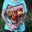 Мясной ассиметричный букет по цене 2188₽ - Цветы, букеты, композиции, фото 1