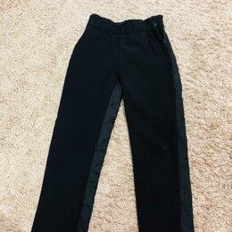 Полукомбинезоны и брюки - Тёплые брюки для девочки , 0