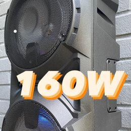 Портативная акустика - Караоке колонка 160W, 0