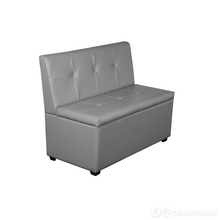 """Кухонный диван """"Уют-1,2"""", 1200x550x830, серый по цене 12078₽ - Диваны и кушетки, фото 0"""