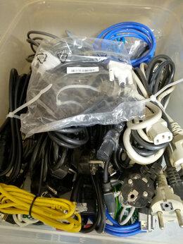 Компьютерные кабели, разъемы, переходники - Куча компьютерных проводов, 0
