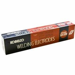 Электроды, проволока, прутки - 🔥Электроды для ручной дуговой сварки kobelco lb-52u 2,6мм 5кг, 0