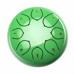 Ударные установки и инструменты - Foix FTD-68C-GR Глюкофон, 15см, До мажор, зеленый, 0