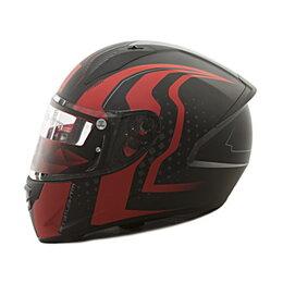 Спортивная защита - Шлем MT STINGER WARHEAD Matt Black Red Grey, 0