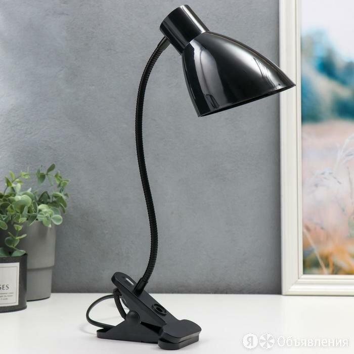 Настольная лампа 16700/1BK Е27 15Вт черный по цене 1025₽ - Настольные лампы и светильники, фото 0