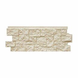 Фасадные панели - Фасадная панель Grand Line Дикий камень Стандарт Молочный, 0