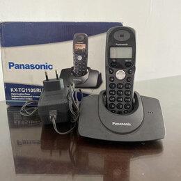 Радиотелефоны - Телефон цифровой беспроводной Panasonic KX -tga 110 cx, 0